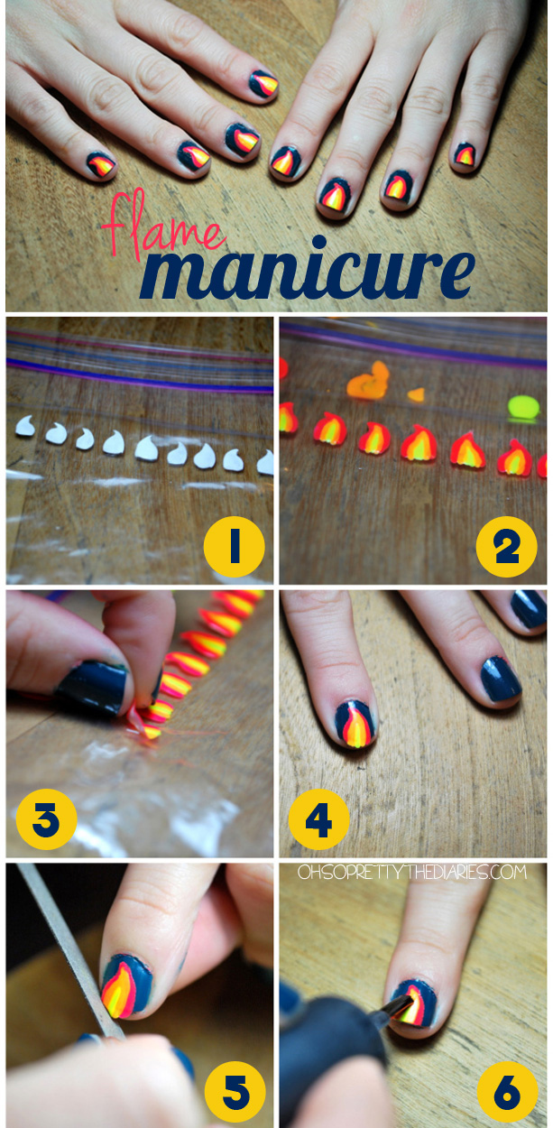 Stunning How To Apply Nail Decals Images Taylorkinneyus - How to make nail decals at home