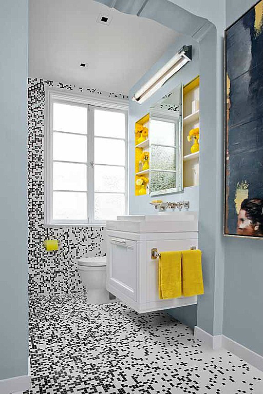 Delightful Tiled Bathroom
