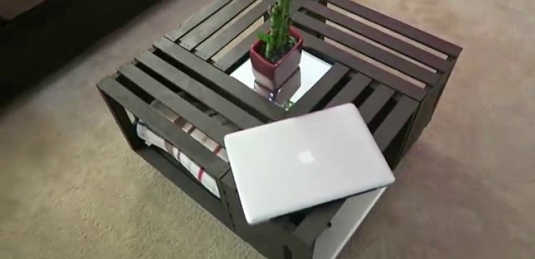 How To Make A Homemade Coffee Table On The Cheap