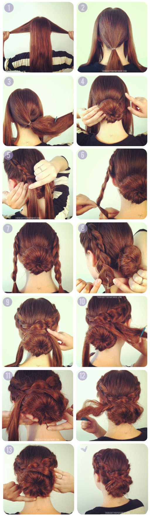 Braid Around Bun