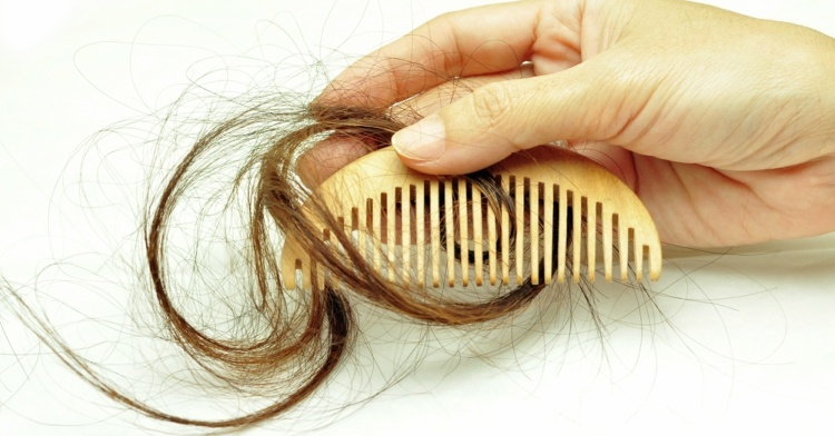 Hair falling out when combing hair