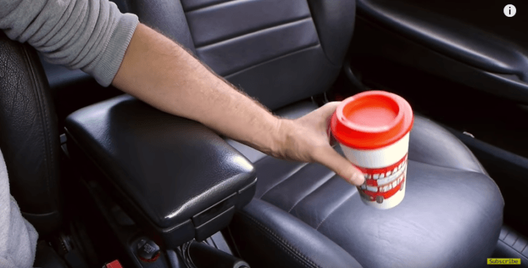 How to make a cup holder.