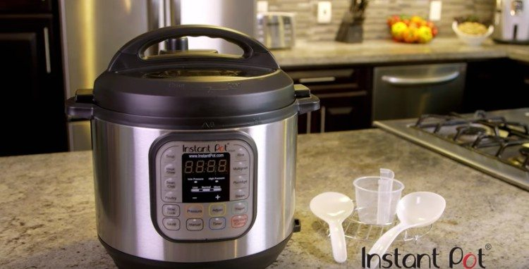 A new coking tool called an Instant Pot.
