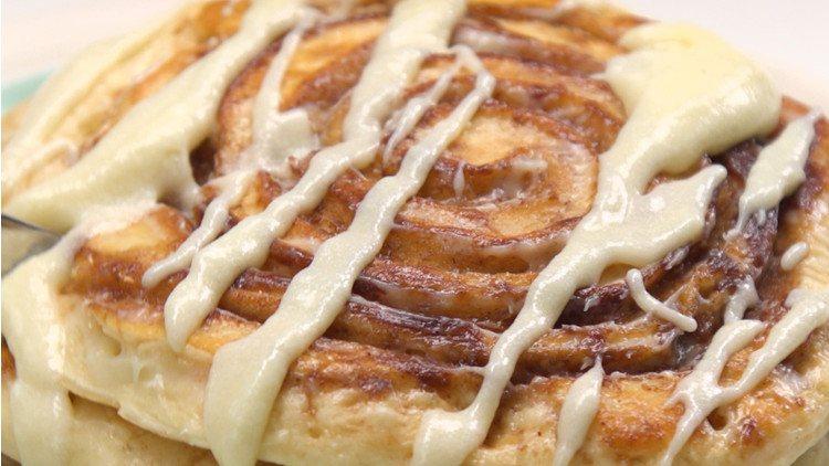 Cinnamon Roll Pancakes FI