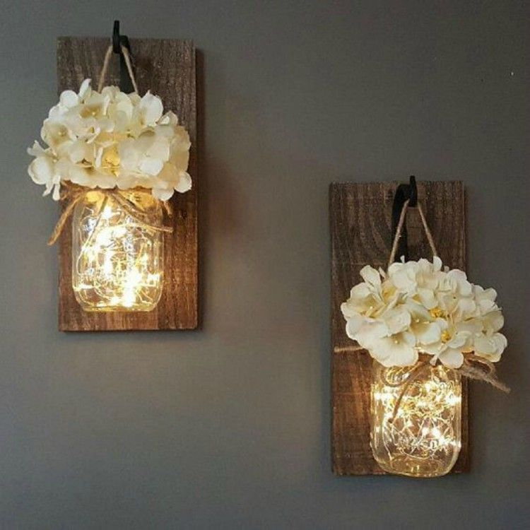 17 diy ways to use fairy lights in your decor tiphero for Lights for home decor
