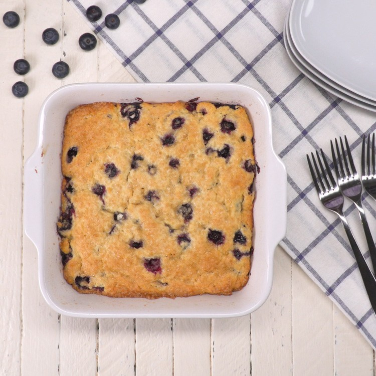 Buttermilk Blueberry Breakfast Cake hero shot