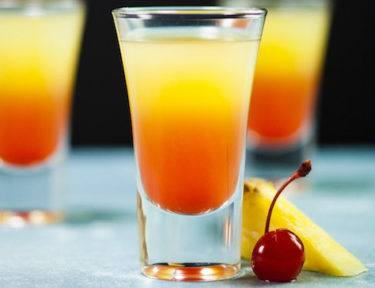 pineapple upside-down cake shot featured image