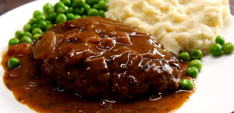 Easy Salisbury Steak Recipe