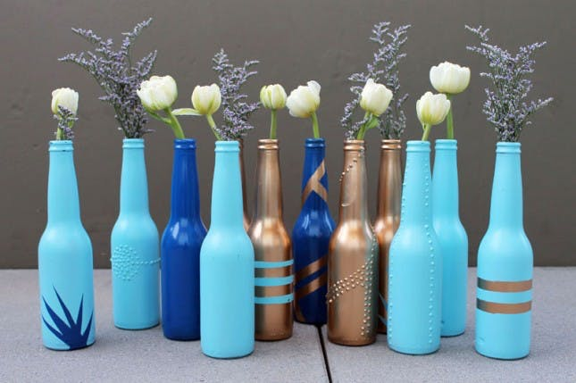 13 Gorgeous Ways To Repurpose Glass Bottles Healthy To Fit