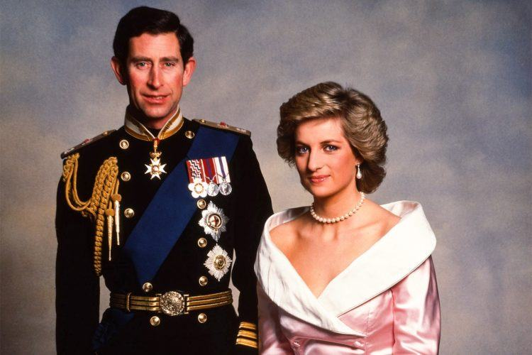 Princess Diana and Prince Charles.