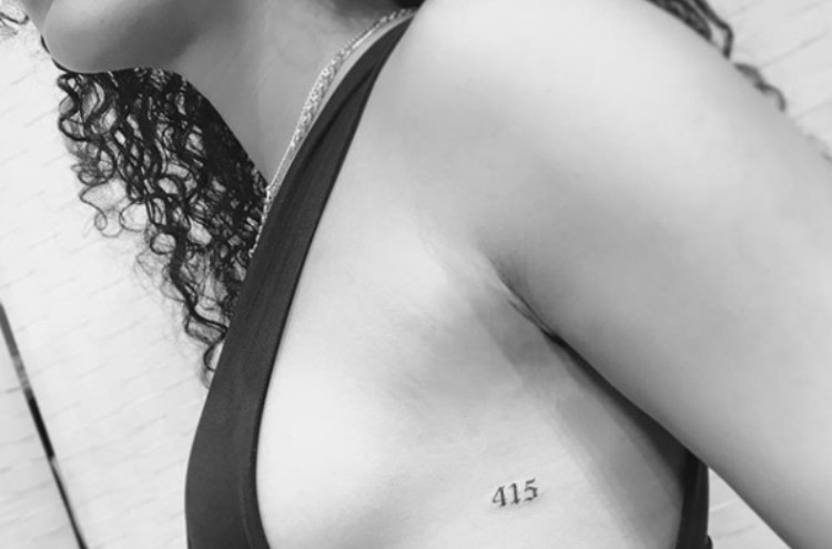 tattoo area code