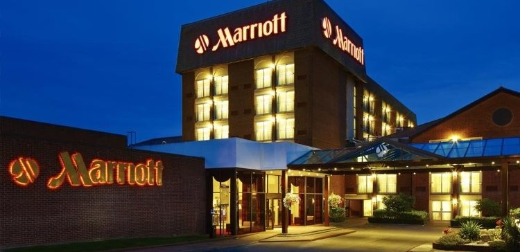 Image of Marriott Hotel.