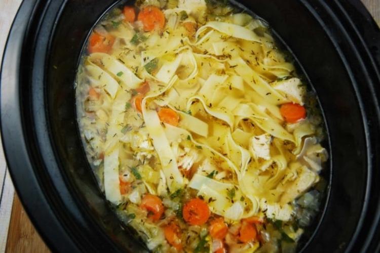 pasta chicken noodle